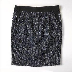 🛍J.Crew skirt Straight Pencil tweed size 14